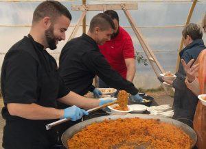 Paellas Gigantes | El Madroño Catering