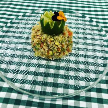 catering vegetariano en madrid